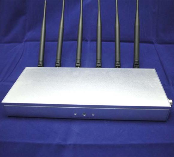 無線信号の妨害機