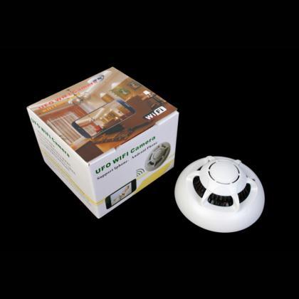 WIFI火災報知器型カメラ 天井小型カメラ 火災報知器 超小型カメラ 防犯用カメラ 32GB内蔵
