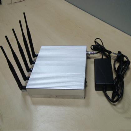 GPS/WiFi 電波抑止装置、GSM/3G/WLAN妨害器 赤外線リモコン付き 試験場用 長時間連続働き 適性高い