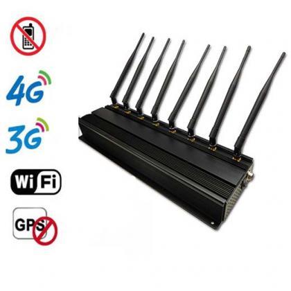 8341CA-8B強力携帯電波妨害器  各種電波GSM、3G、4G、GPS、WIFI全て対応 遮断範囲は1~40m