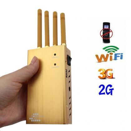 電波遮断装置 無線シグナルの抑止装置 電波遮断ジャマー CDMA/PHS/3G/GPS/WiFiを遮断