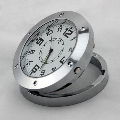 防犯用監視カメラ 置時計カモフラージュカメラ スパイカメラ リモコン操作 高画質