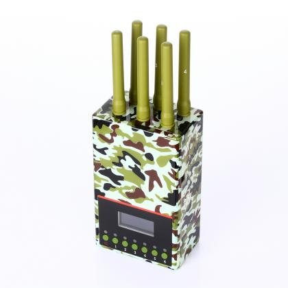 携帯電波遮断装置 ポータブルジャミング装置 電話ジャマー 電波カット軍需迷彩のデザイン