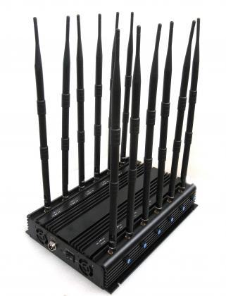 超強力電話遮断機 遮断範囲が広い電波遮断装置 有効な迷惑対策 12本アンテナ