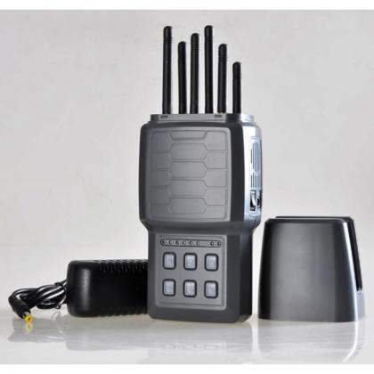 ハイパワー携帯妨害器 多機能 ハンドヘルド電話ジャミング アンテナを隠すことができる