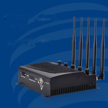 大好評の3G/4G電波ジャマー 5アンテナの放置型シグナル遮断機 適性高いWiFi通信妨害