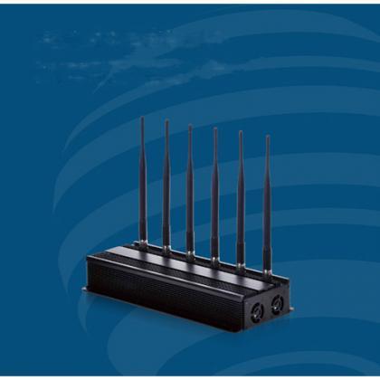 新品gps電波遮断機 6本アンテナのWi-Fiを規制する装置 多機能3G/4G妨害装置